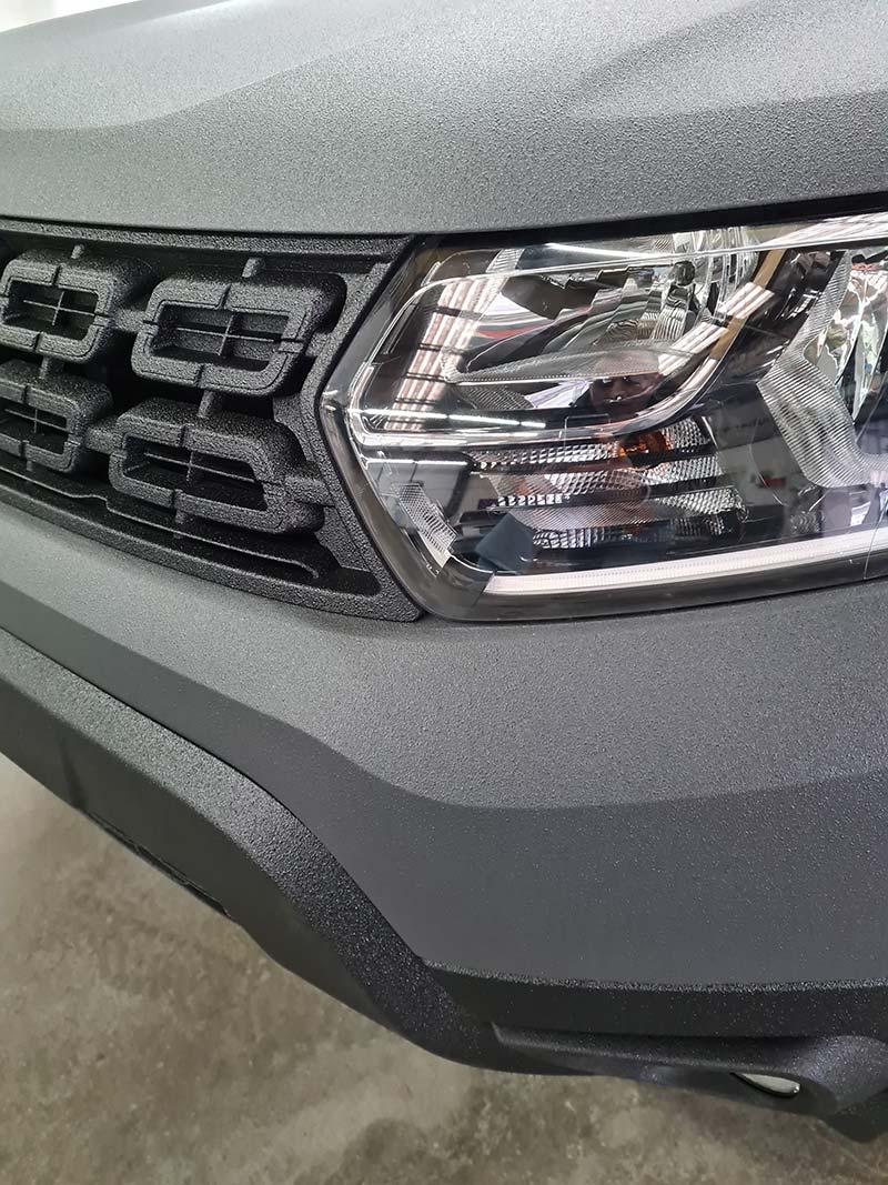 Dacia Detail-Frontansicht