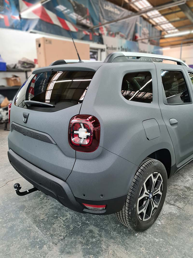Dacia Rückansicht 2