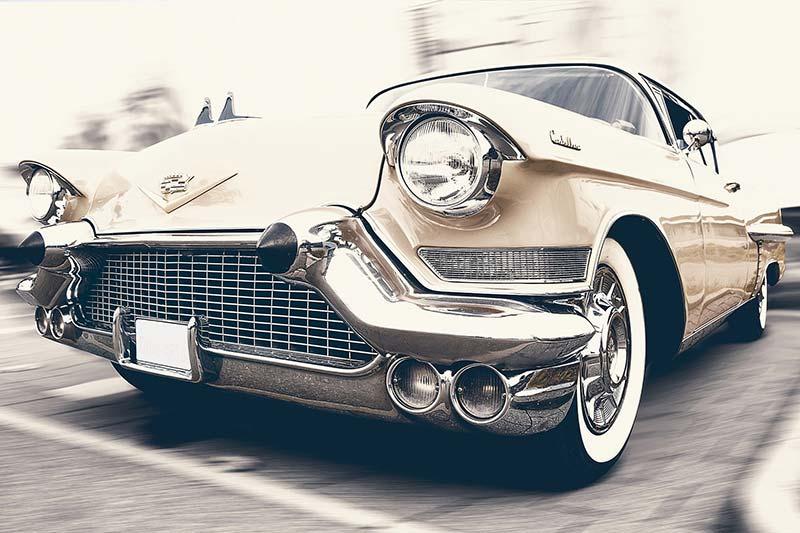 Oldtimer 50er beige